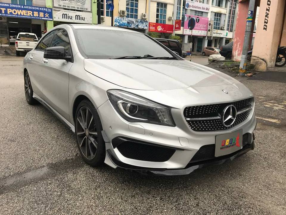 mercedes cla 200 full bodykit conversion upgrade your. Black Bedroom Furniture Sets. Home Design Ideas