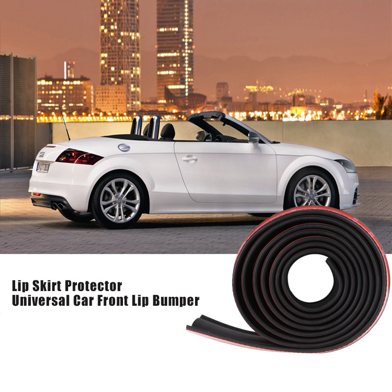 Car & Truck Exterior Parts Rubber Front Bumper Lip Spitter Body Spoiler for All Vehicle Car & Truck Parts